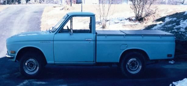 Best Winter Tires For Trucks >> 1972 Datsun Pickup